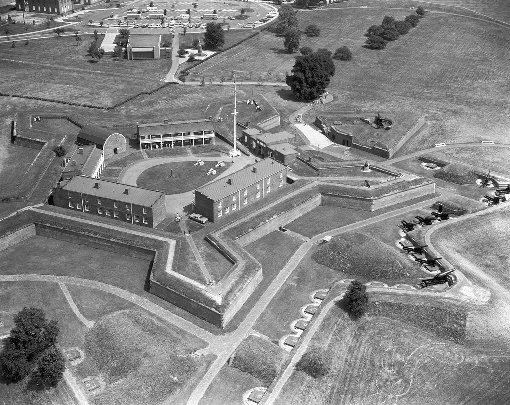 Detail of Aerial View of Fort McHenry by Corbis