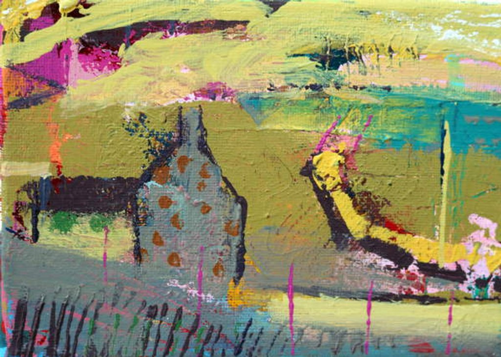 Detail of Iona pathway II by Sara Hayward