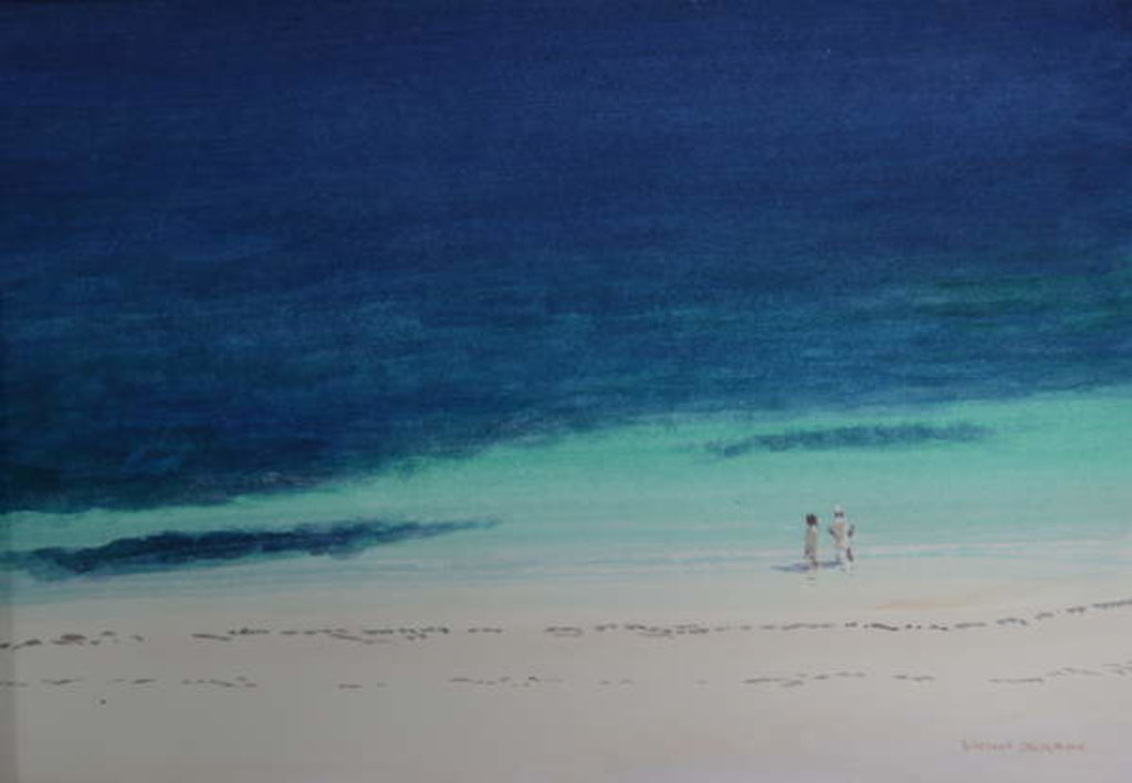 Detail of Kilifi Beach by Lincoln Seligman