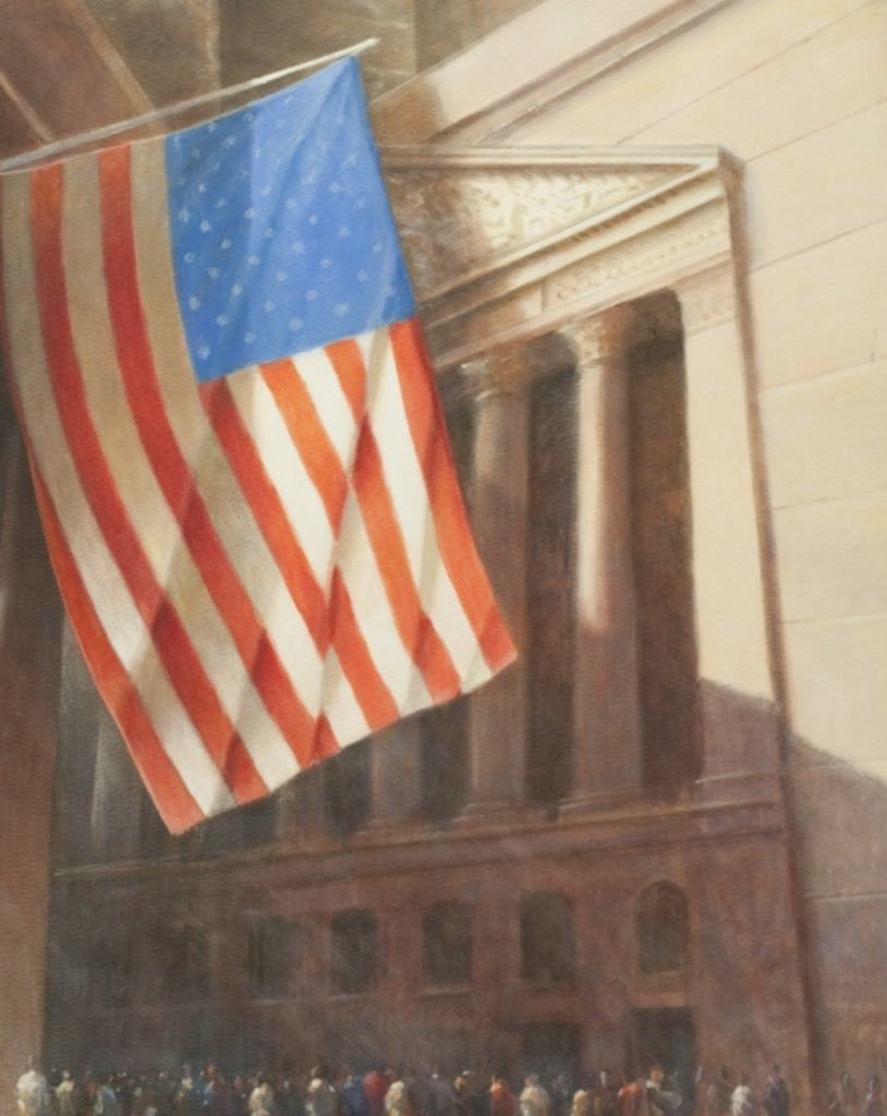 Detail of New York Stock Exchange by Lincoln Seligman