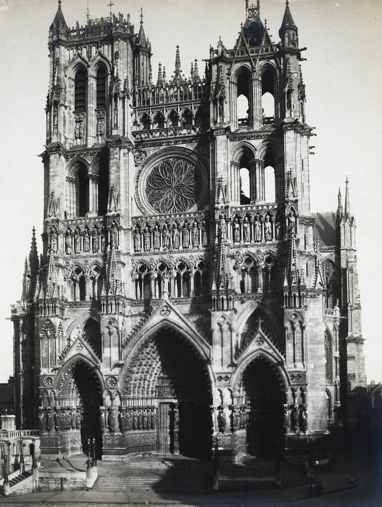 Detail of Exterior of the Amiens Cathedral by Corbis