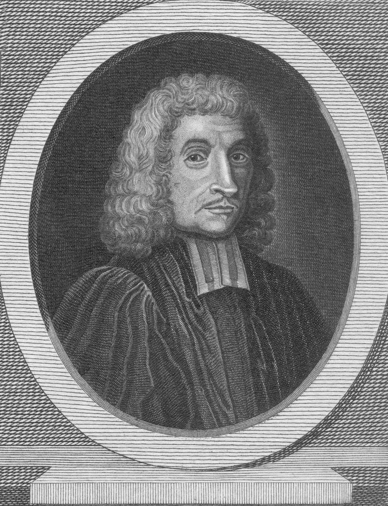 Detail of Engraving of John Ray by Corbis