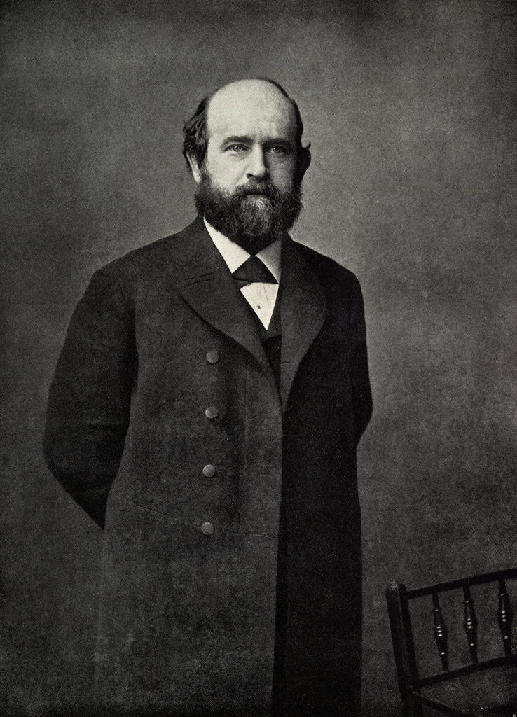 Detail of Henry George by Corbis