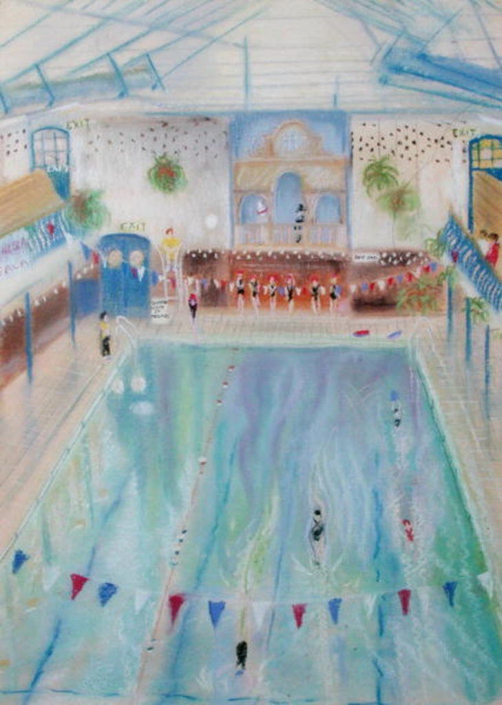 Detail of Chelsea Swimming Baths by Sophia Elliot