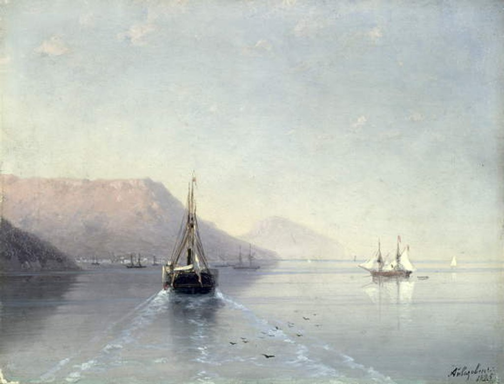 Detail of Calm, 1885 by Ivan Konstantinovich Aivazovsky