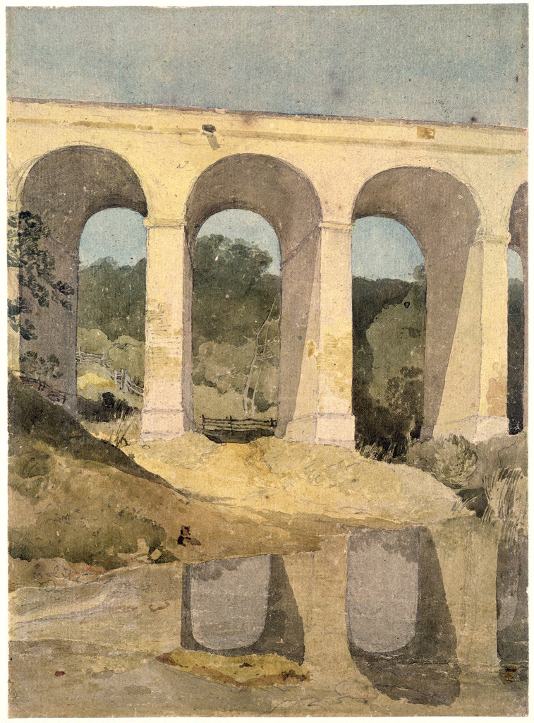 Detail of Chirk Aqueduct, 1806-7 by John Sell Cotman