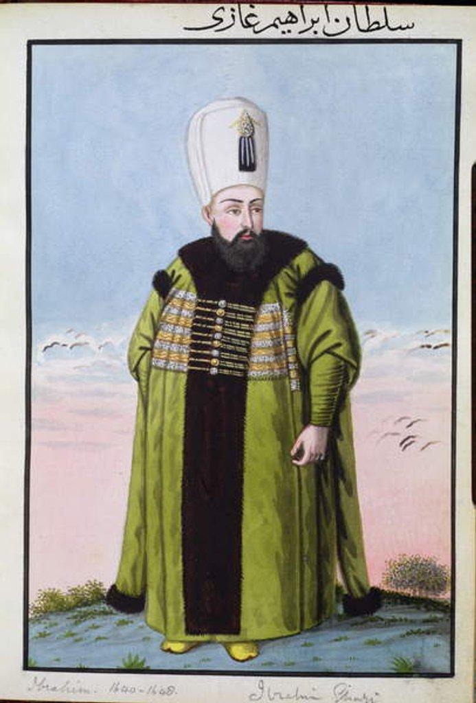 Ibrahim Sultan 1640-48 by John Young