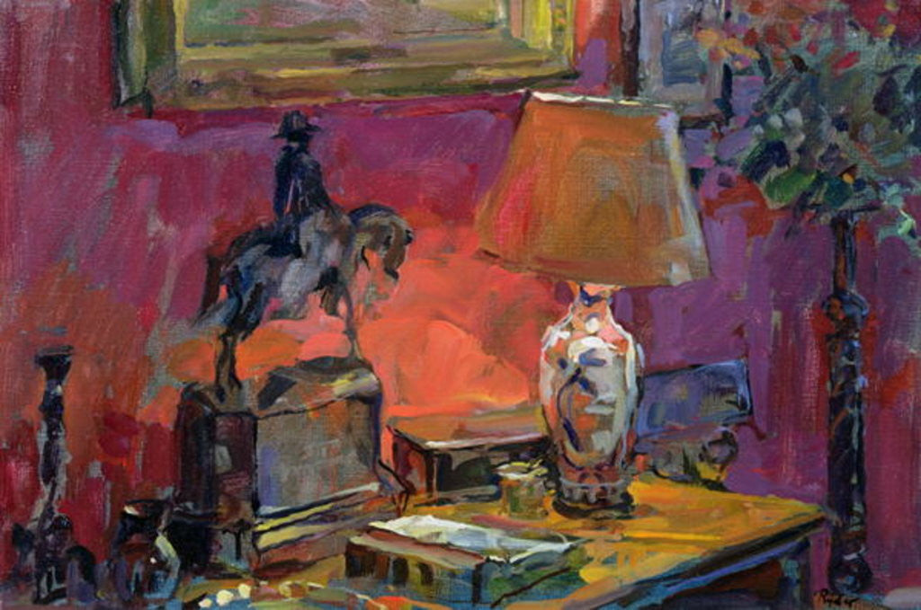 Detail of Still Life with Wellington by Susan Ryder