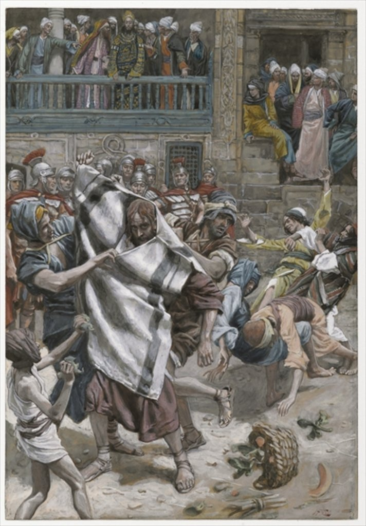 Detail of Jesus Before Herod by James Jacques Joseph Tissot