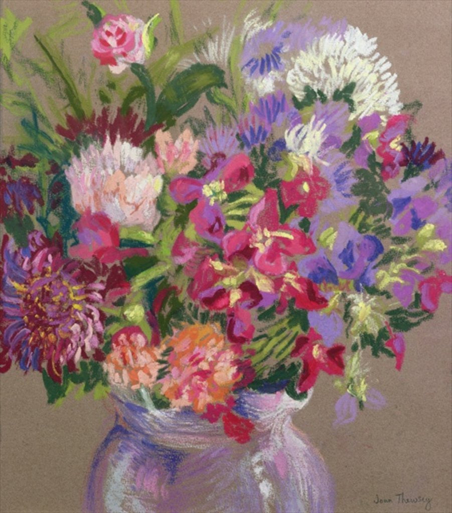 Detail of Asters by Joan Thewsey