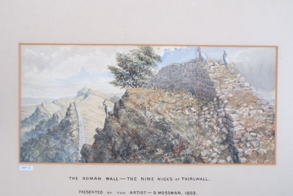 Detail of The Roman Wall - The Nine Nicks of Thirlwall by David Mossman