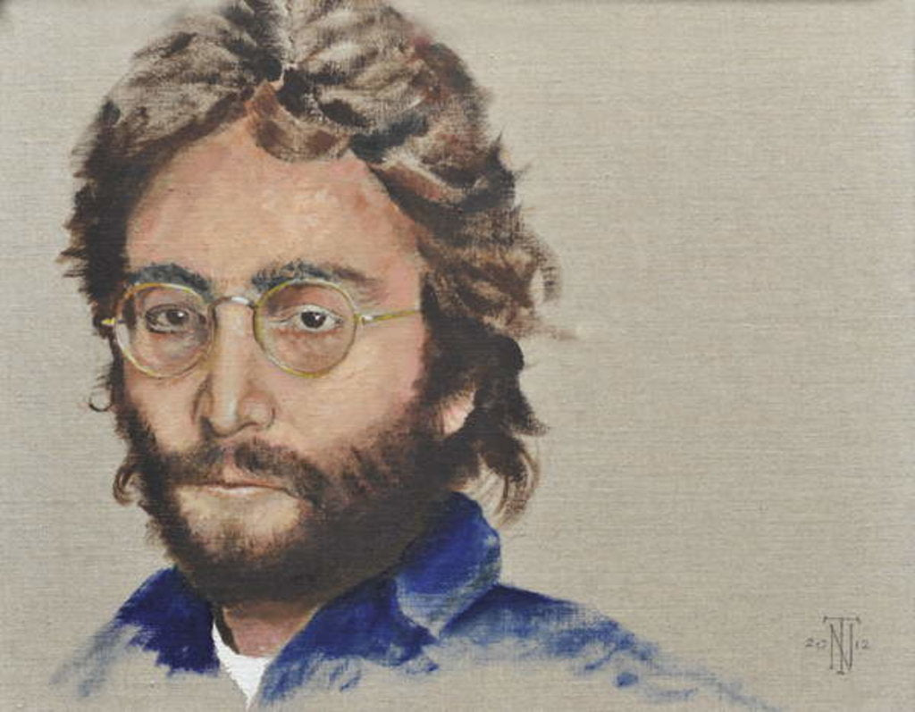 Detail of Lennon, 2012 by Trevor Neal