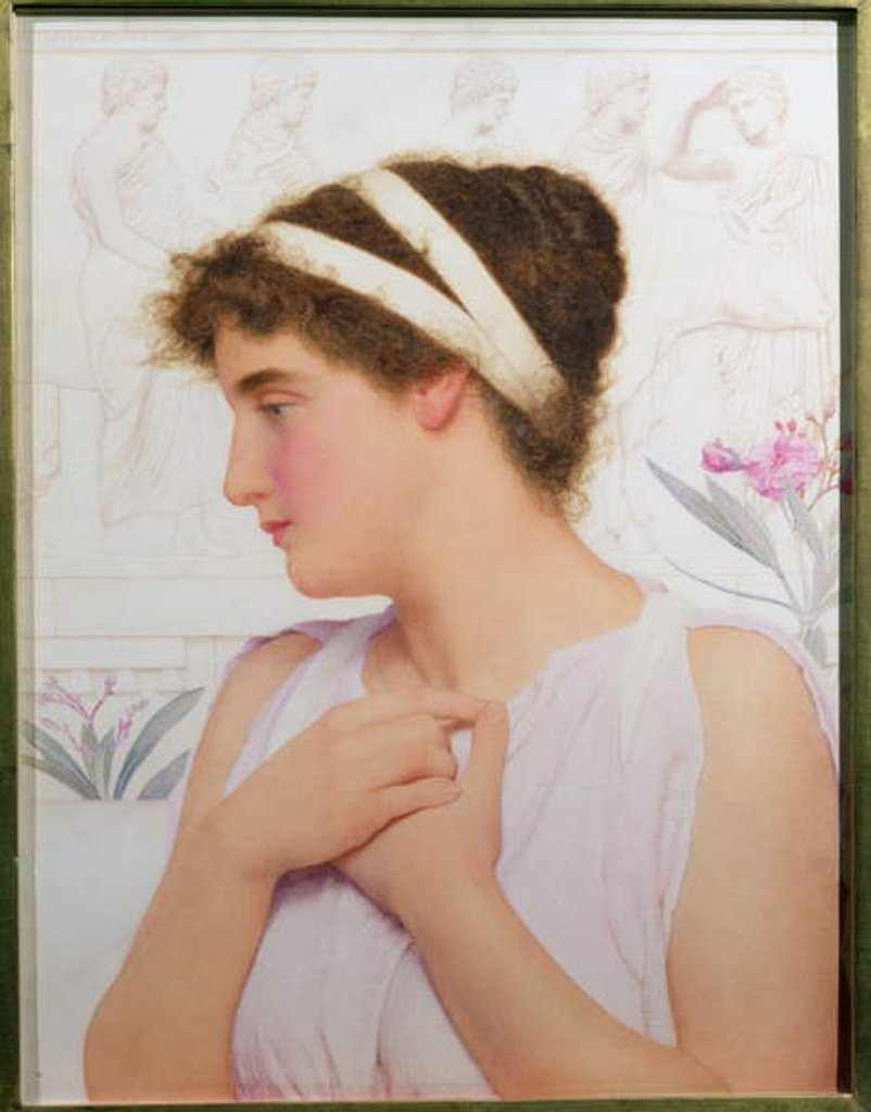Detail of Carina, 1900 (pair of 111180 by George Lawrence Bulleid
