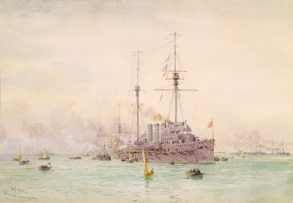 Detail of The Second Cruiser Squadron by William Lionel Wyllie