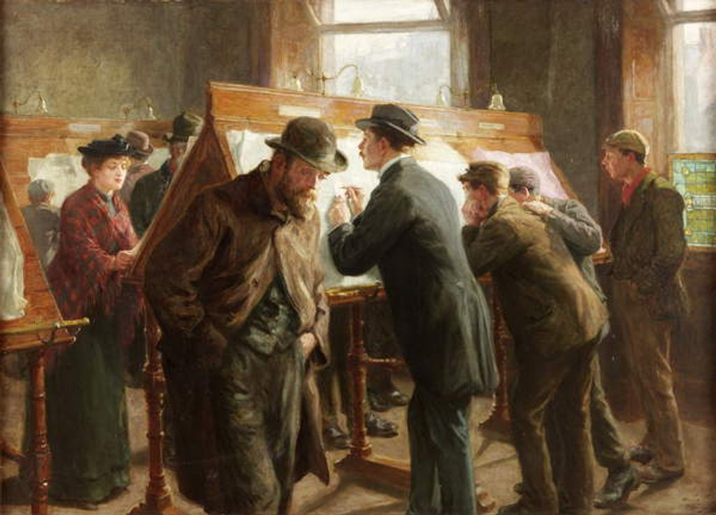 Detail of Seeking Situations by Ralph Hedley