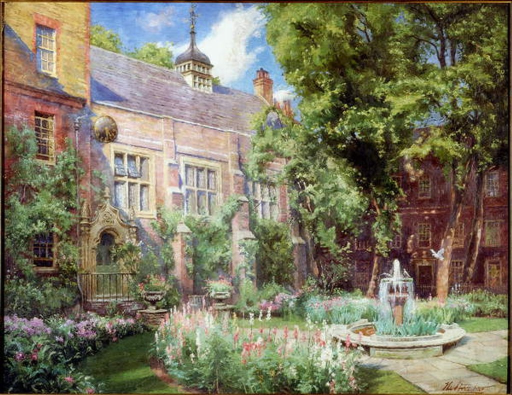 Detail of Garden by Henry Straker
