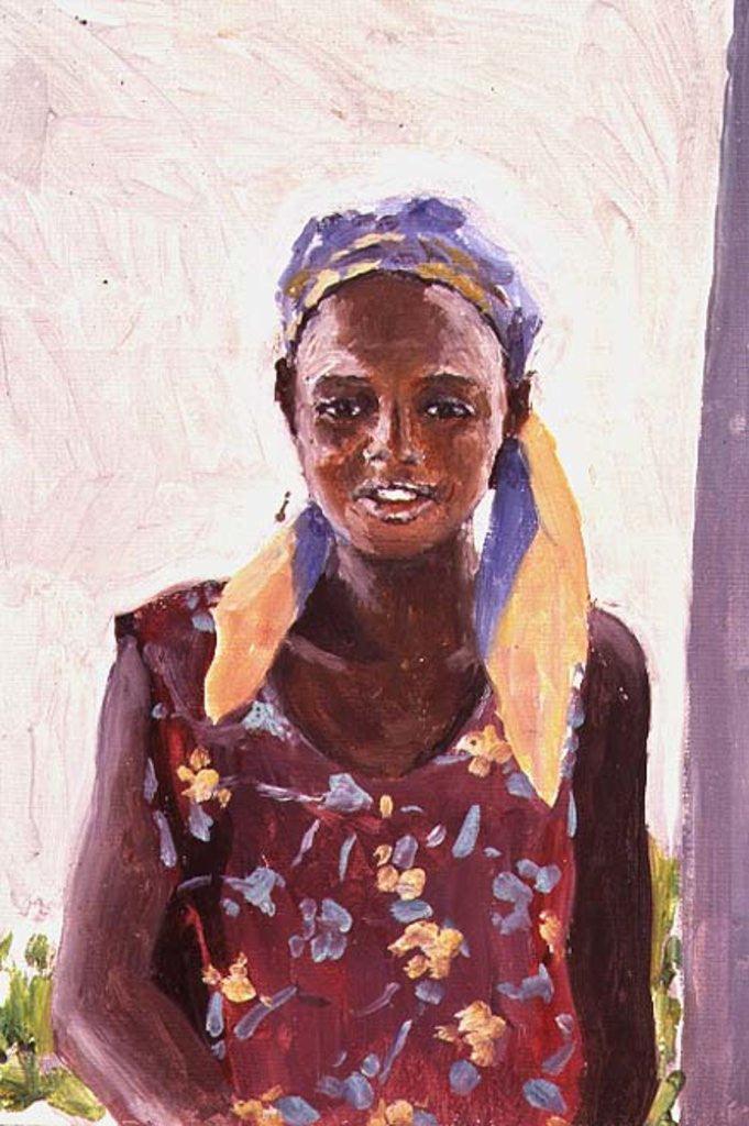 Detail of Malagasy Girl by Tilly Willis