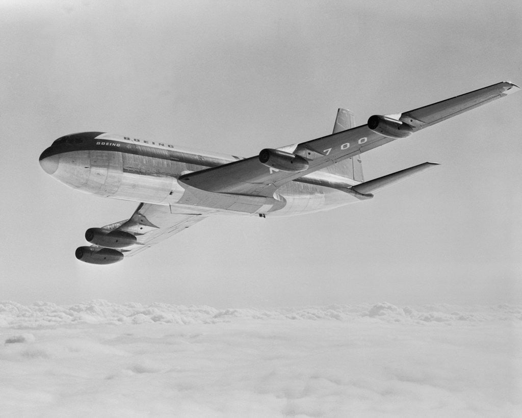 Detail of Boeing 707 Airplane by Corbis