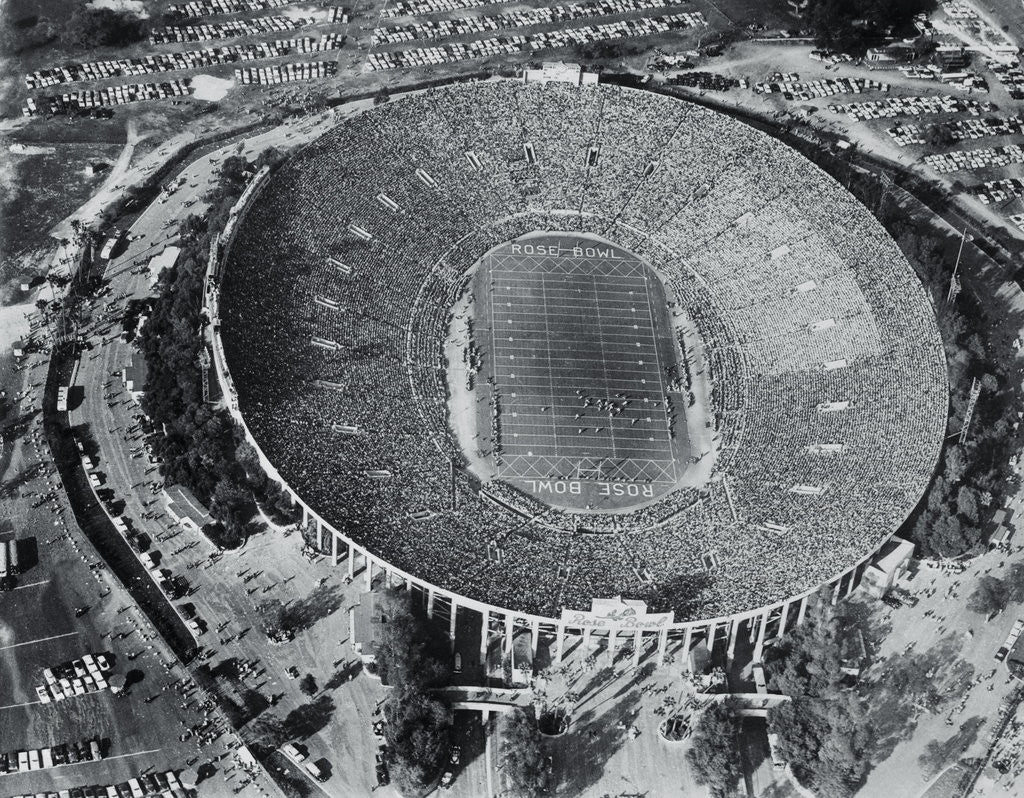 Detail of Ariel View of the Rose Bowl by Corbis