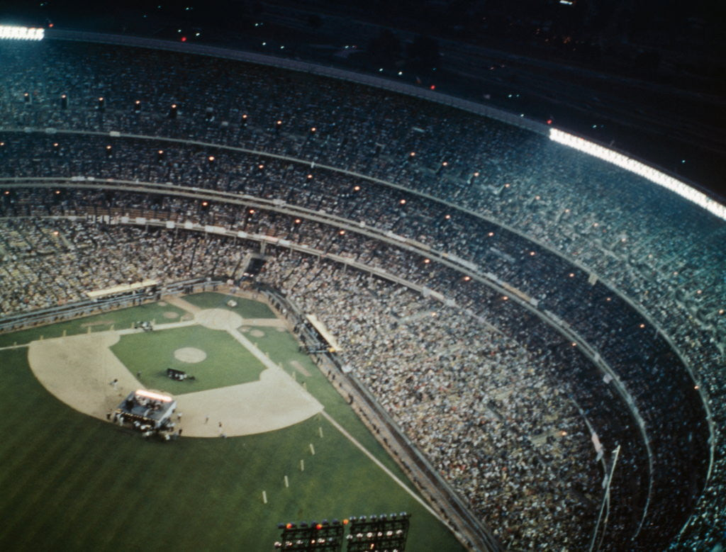 Detail of Shea Stadium by Corbis