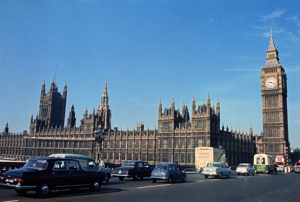 Detail of Parliament Building by Corbis