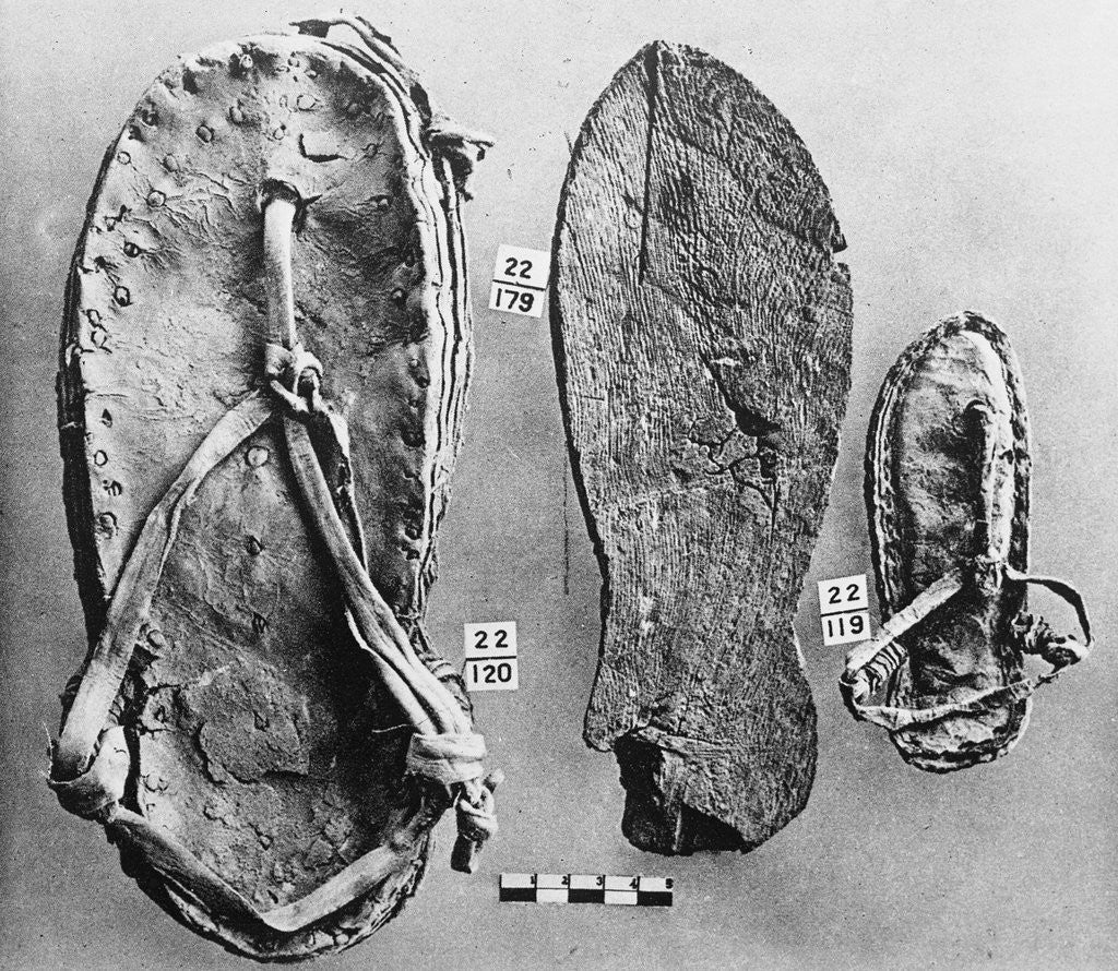 Egyptian ancient footwear photo best photo