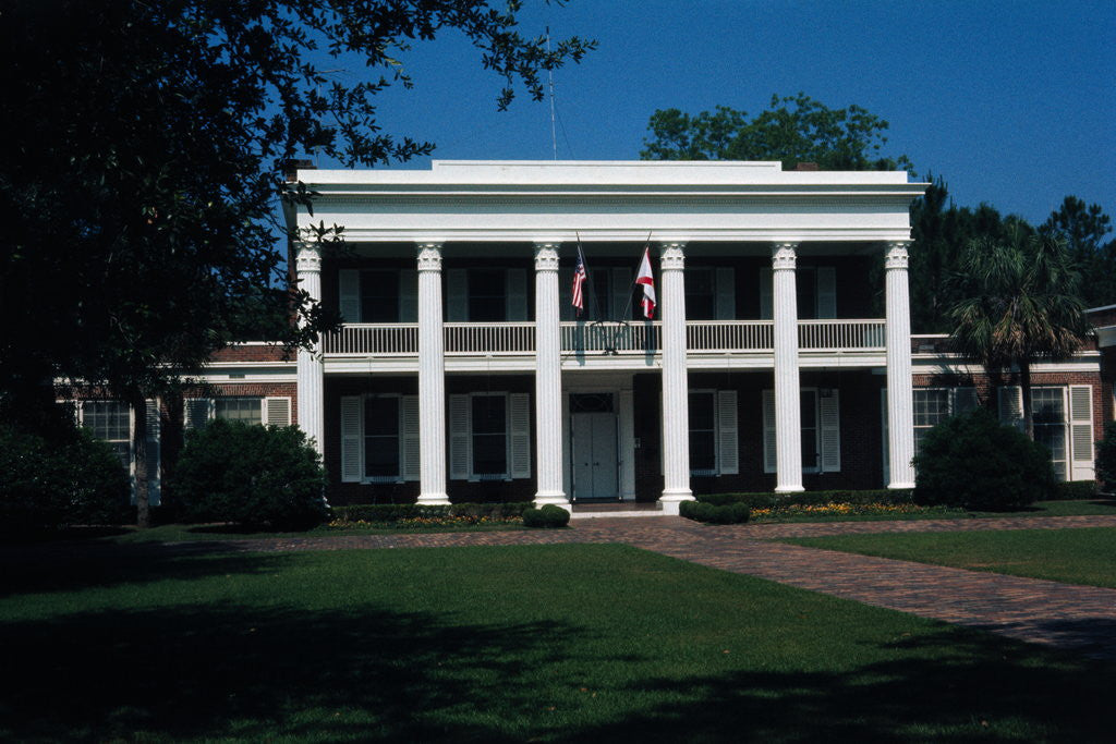 Detail of Florida Governor Mansion by Corbis