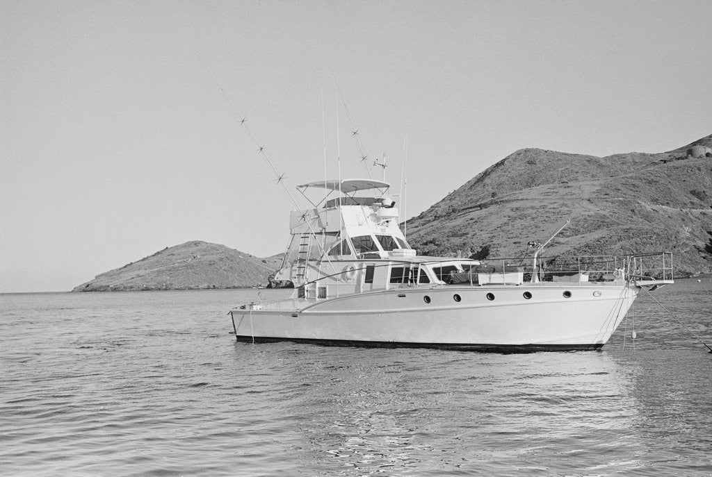 Detail of Exterior Side View of the Yacht Splendor by Corbis