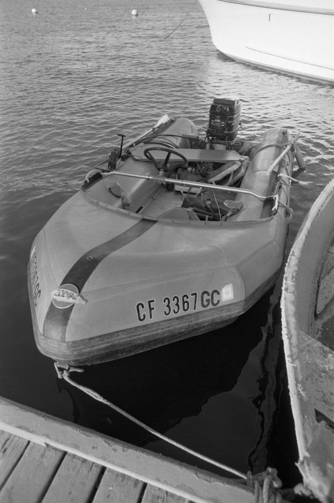 Detail of A Dinghy by Corbis