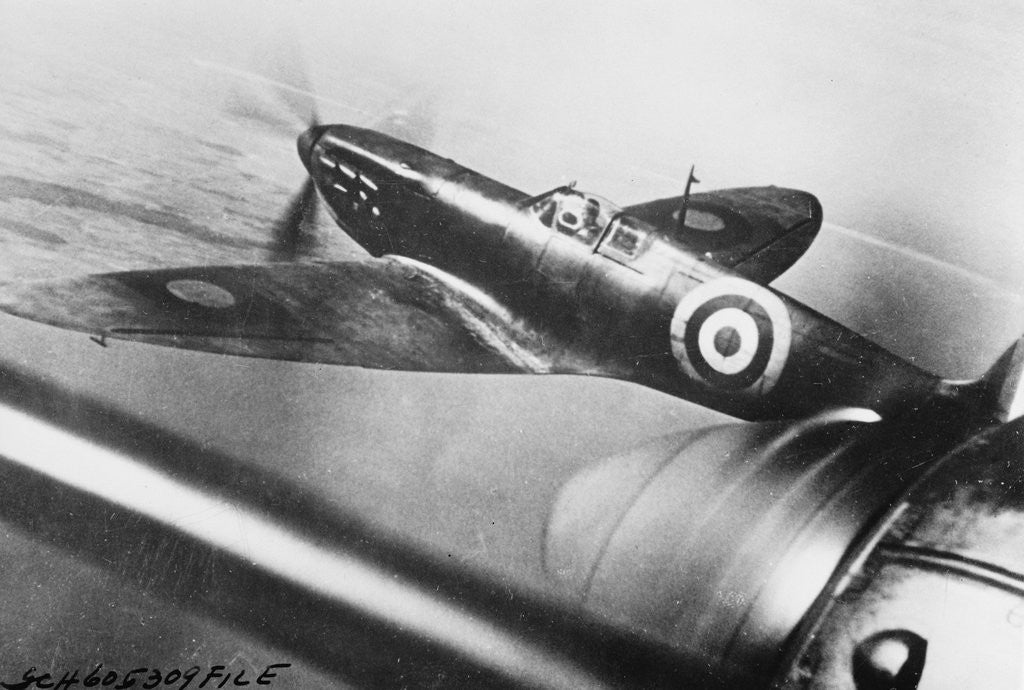British Spitfire by Corbis