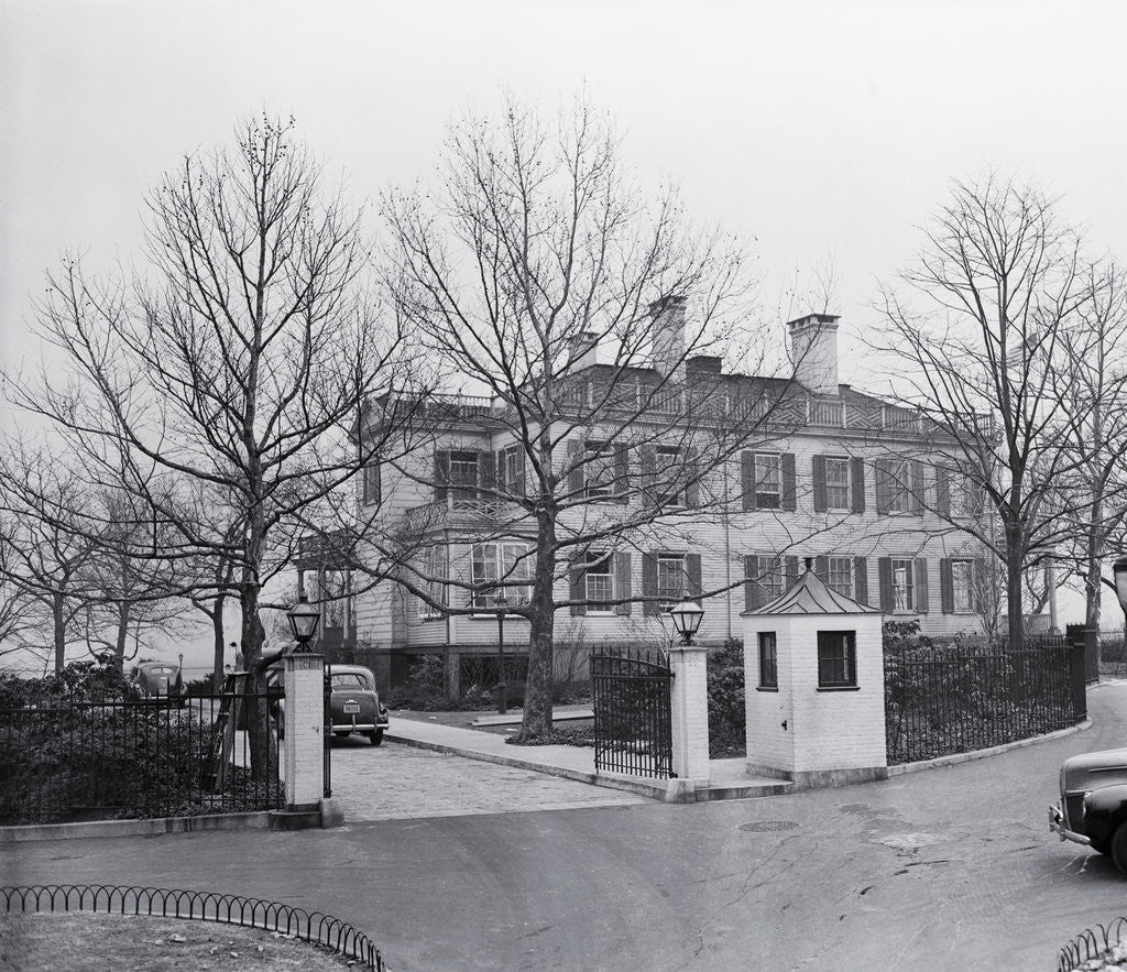 Detail of Gracie Mansion by Corbis