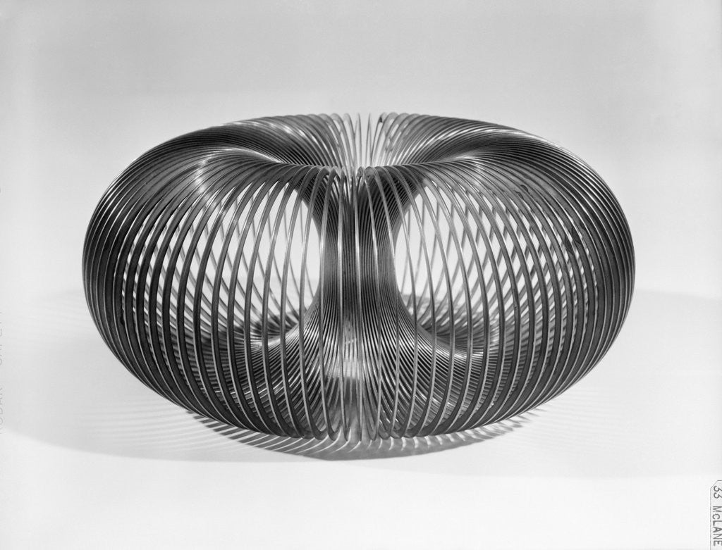 Detail of Close up View of American Toy Slinky by Corbis