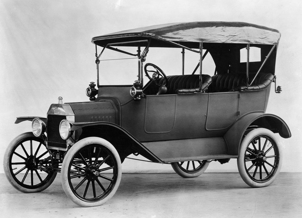 Detail of Early Ford Automobile by Corbis