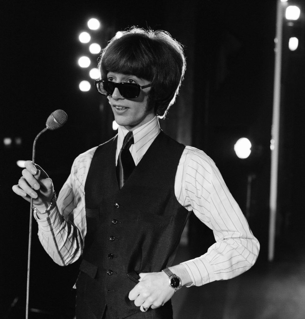 Detail of Robin Gibb by Eric Harlow