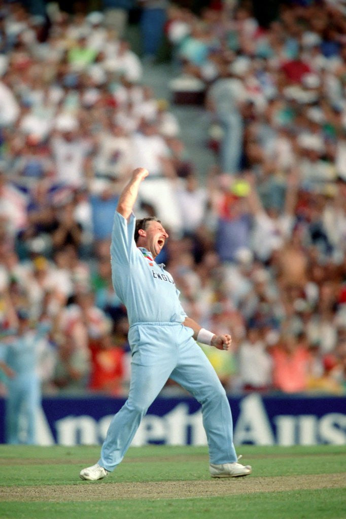 Detail of Cricket World Cup 1992 - Australia: Australia v. England at Sydney by Anonymous