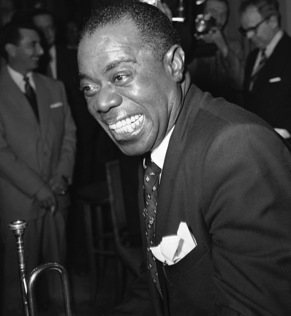 Detail of Louis Armstrong by Staff