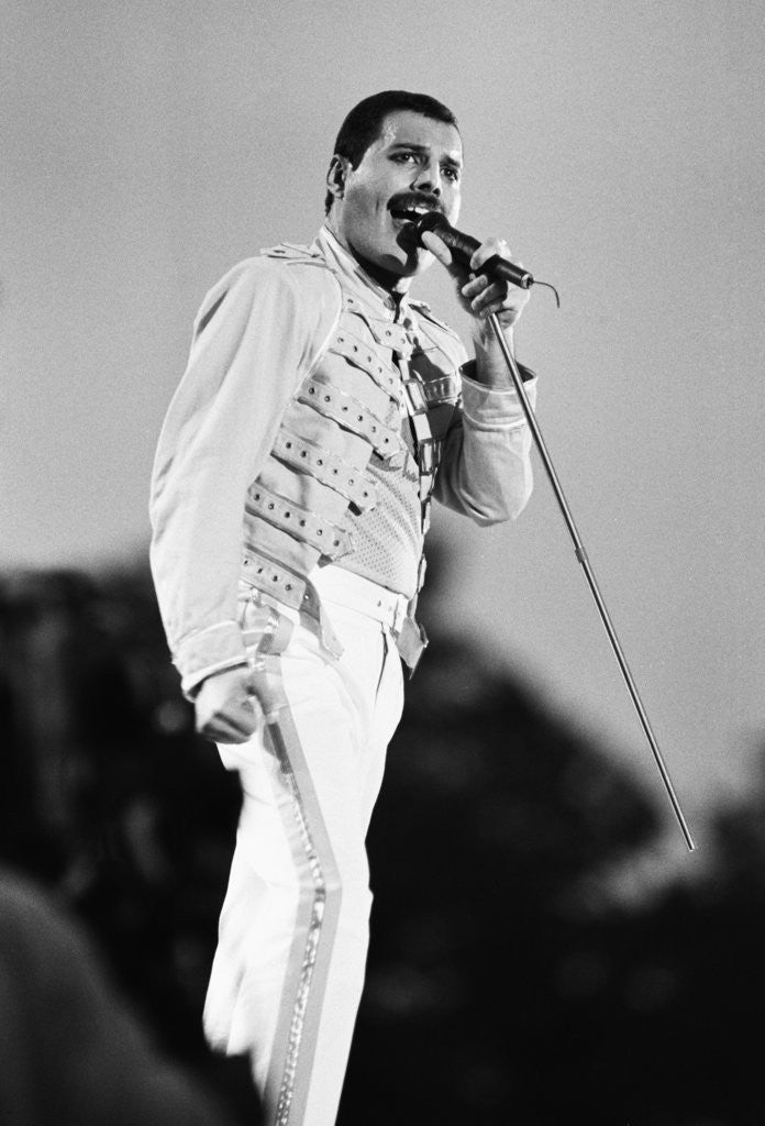 Queen at Knebworth pop festival by Ide/Bennett