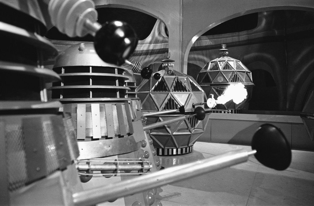 Detail of A scene from Dr Who