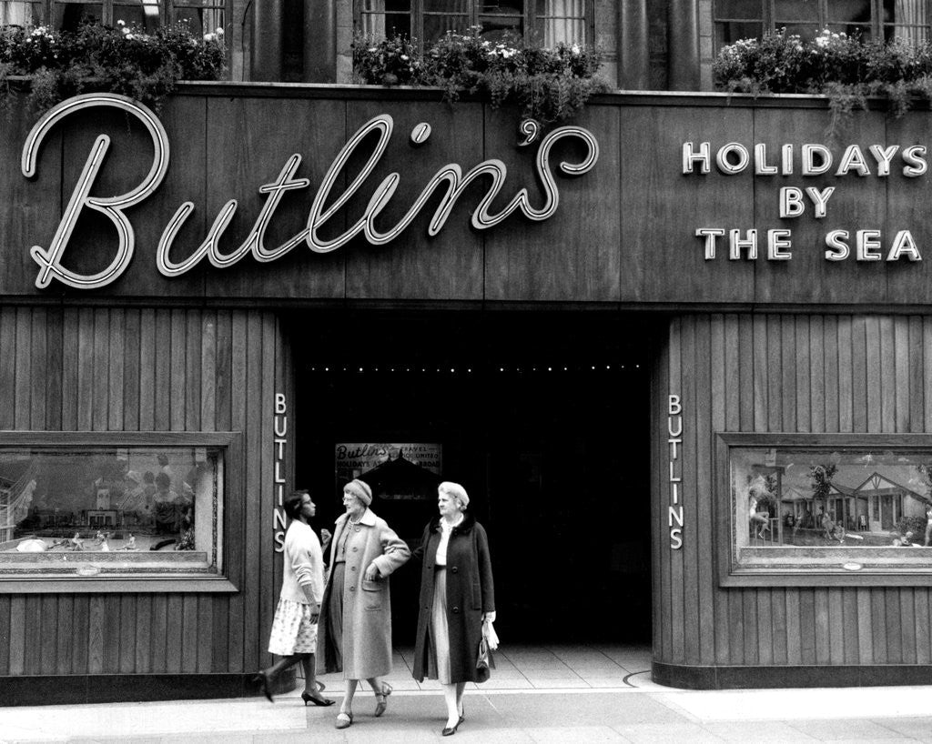 Detail of Butlins holiday camp by Victor Crawshaw