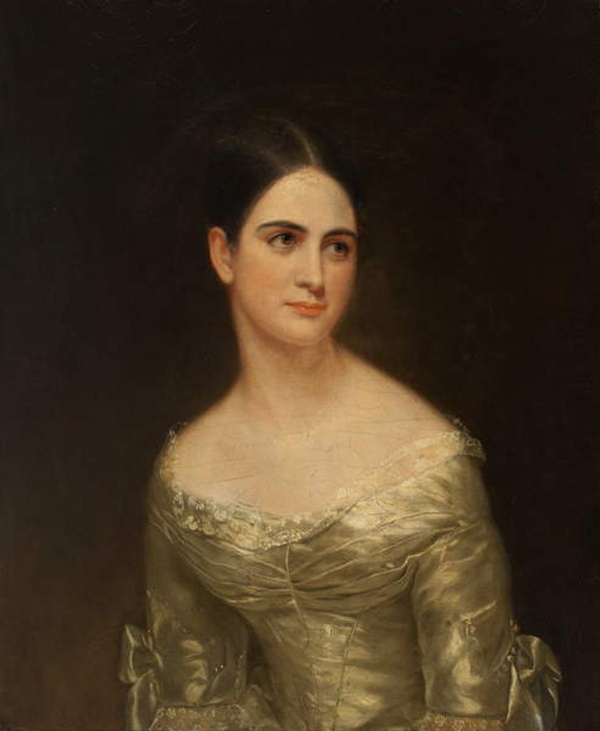 Detail of Miss Pearce, c.1840 by American School