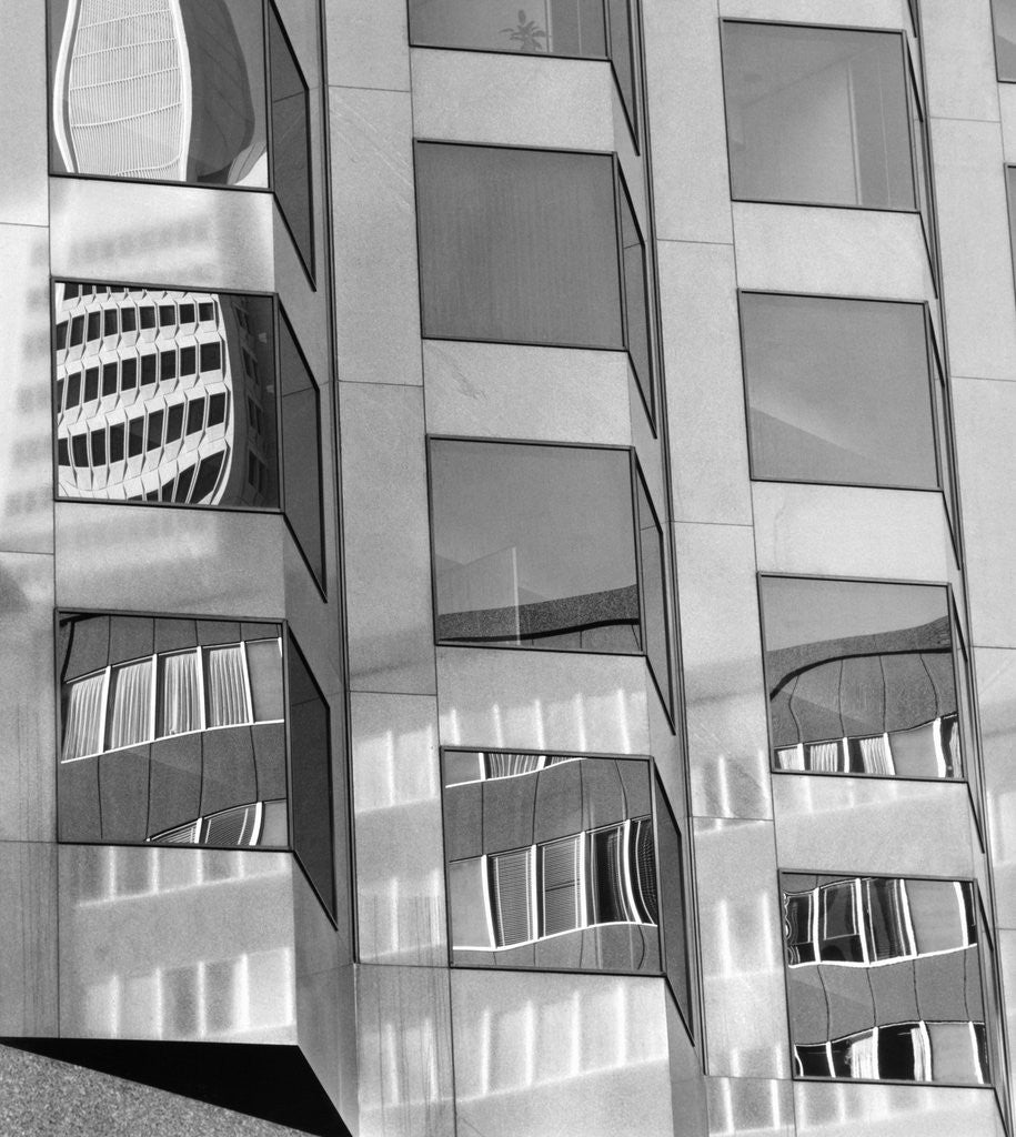 Detail of Bank of America Building, San Francisco, 1975 by Corbis
