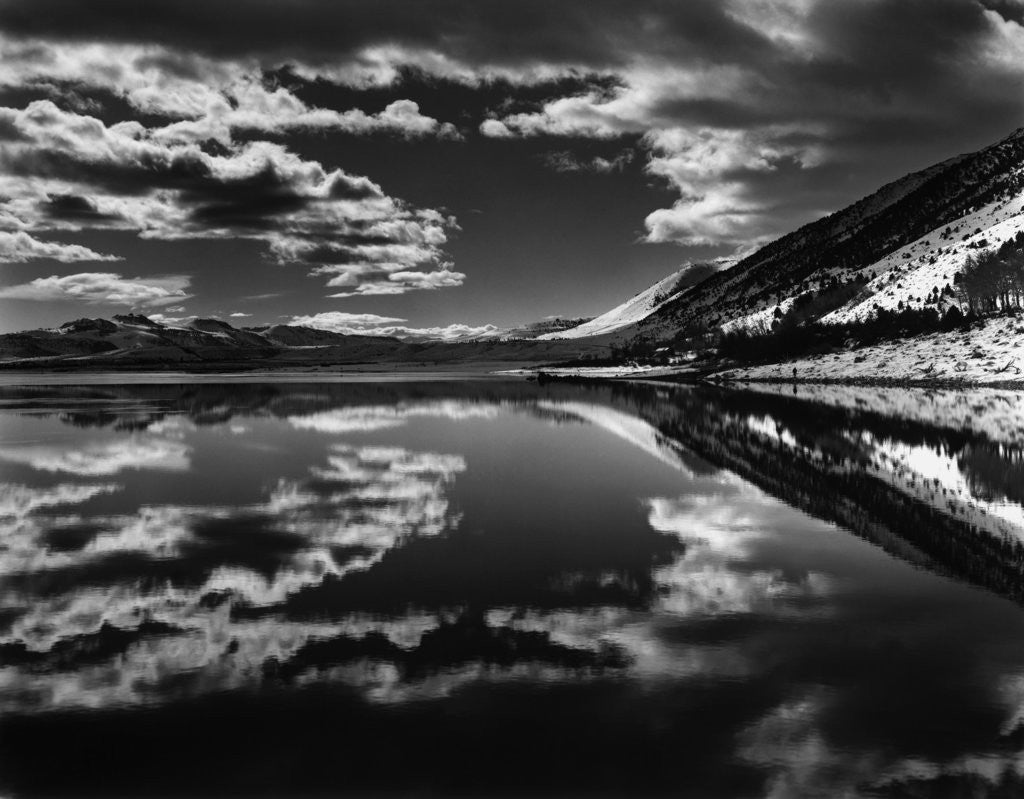 Detail of Mono Lake by Corbis
