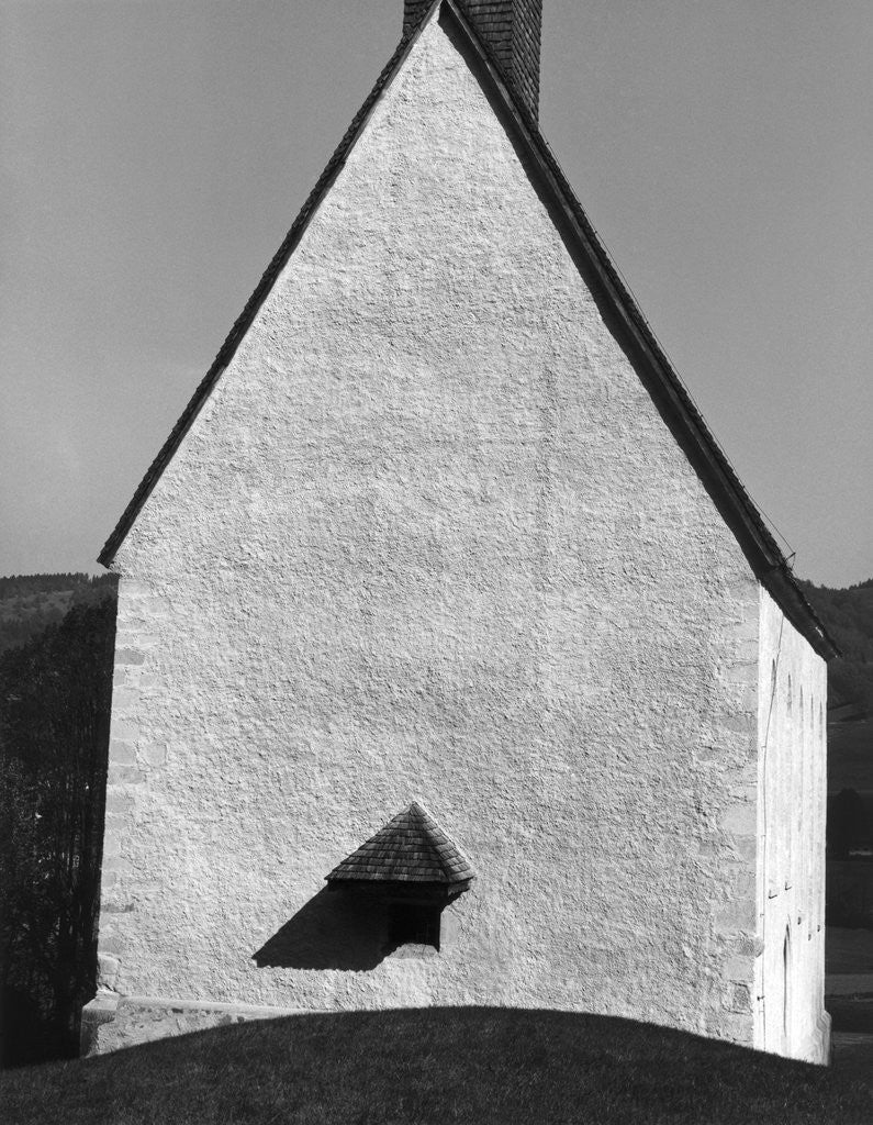Detail of Church, Europe, 1972 by Corbis