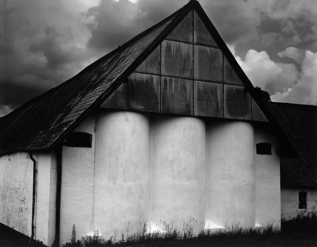 Detail of Granary, Europe, 1968 by Corbis