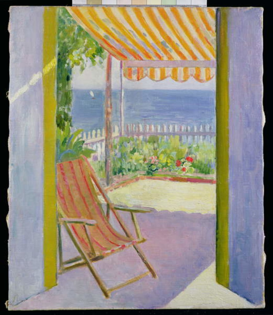 Detail of The Terrace, D'Arcachon by Mildred Bendall