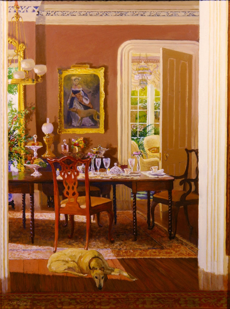 Detail of Dining Room by William Ireland