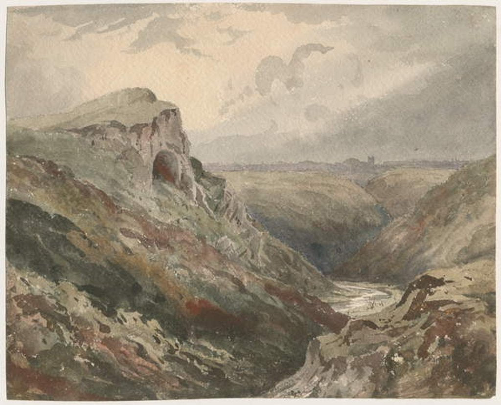 Detail of Wetton Dale by School English