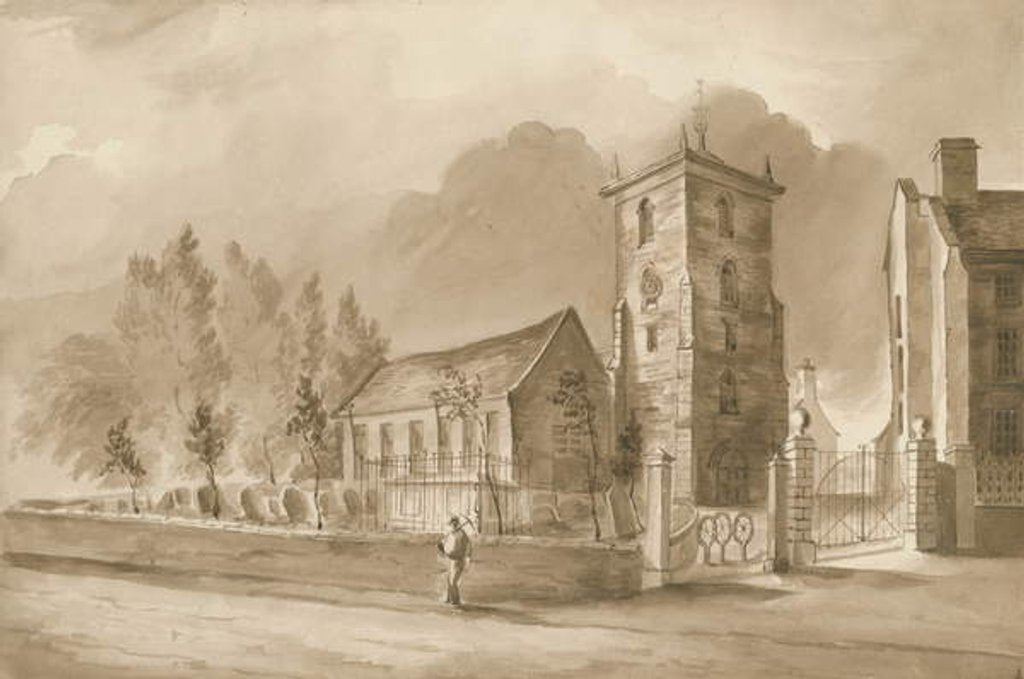 Willenhall Church by Henry James Noyes