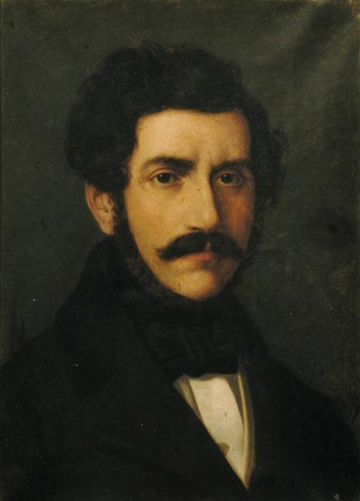 Detail of Portrait of Gaetano Donizetti by Italian School
