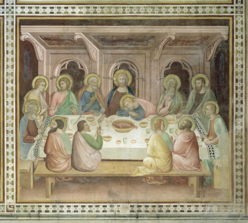 The Last Supper posters & prints by Barna da Siena